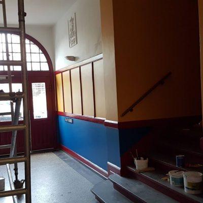Renovering af opgang